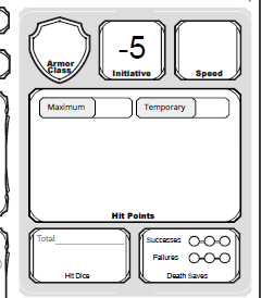 picture regarding Dnd 5e Printable Character Sheet named Dnd Npc Pdf