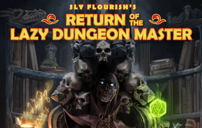 return of the lazy dungeon master book sly flourish