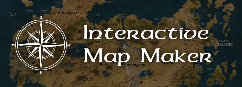 Interactive Map Maker